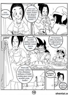 Gohan mete na esposa Videl - Dragon Ball - Foto 11