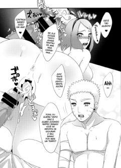 Sakura a ninja tesuda fodendo com Naruto - Foto 18