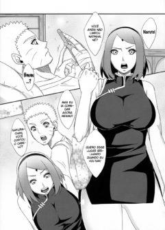 Sakura a ninja tesuda fodendo com Naruto - Foto 2