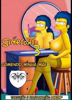 Fodendo a mamãe Simpsons pornô incesto
