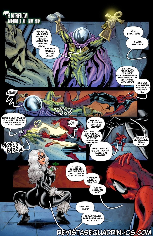 Homem Aranha quadrinhos eróticos - Foto 3