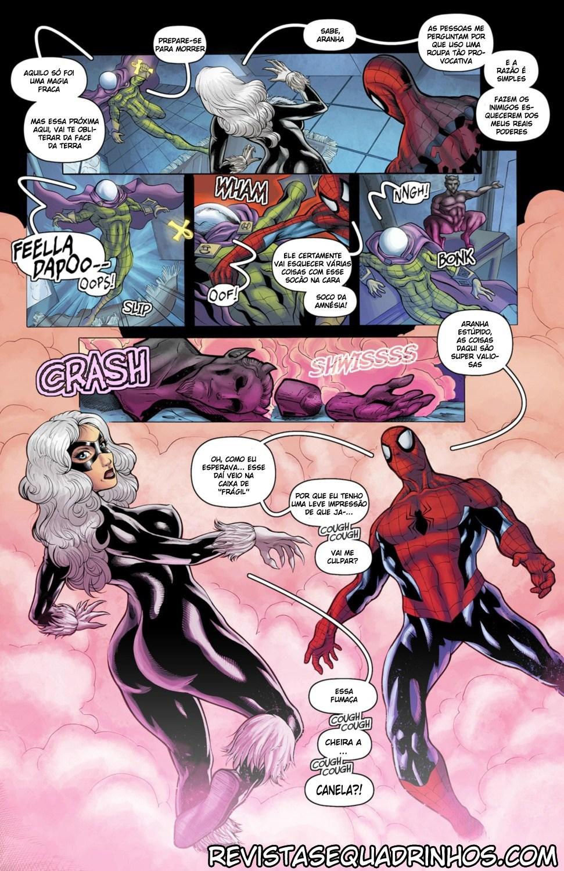 Homem Aranha quadrinhos eróticos - Foto 4