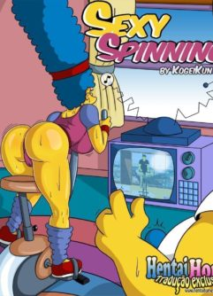 Marge Simpsons puta do Spinning