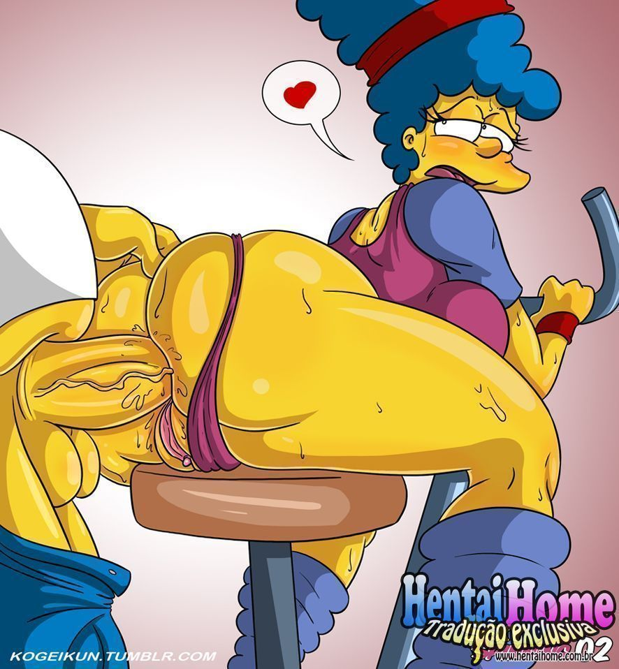 Marge Simpsons puta do Spinning - Foto 3