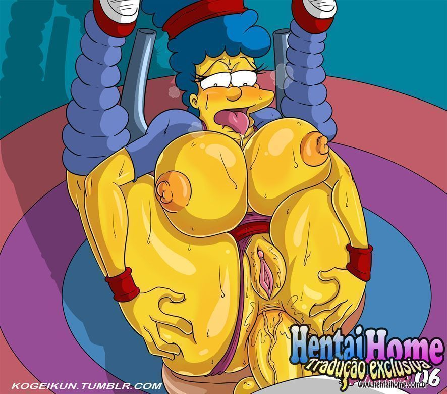 Marge Simpsons puta do Spinning - Foto 7
