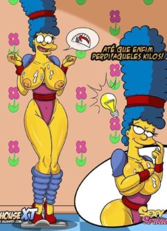 Simpsons Pornô Vadias