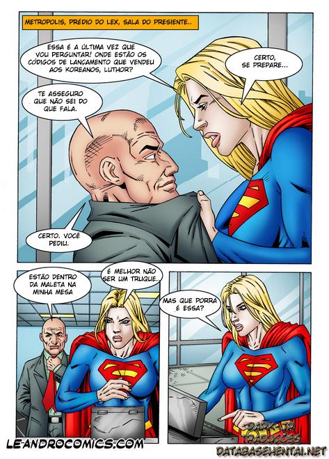 SuperGirl - A super moça se torna vadia de Lex - Foto 1