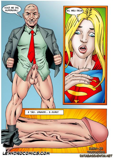 SuperGirl - A super moça se torna vadia de Lex - Foto 2