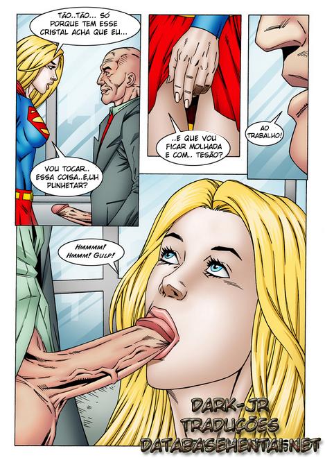 SuperGirl - A super moça se torna vadia de Lex - Foto 3