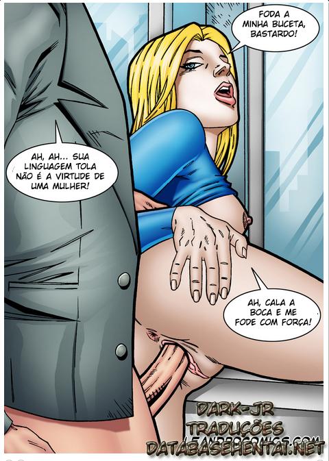 SuperGirl - A super moça se torna vadia de Lex - Foto 5