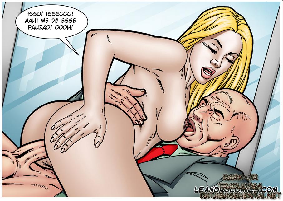 SuperGirl - A super moça se torna vadia de Lex - Foto 6