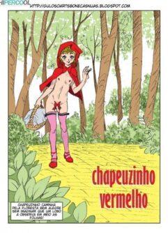 Chapeuzinho vermelho transexual dando pro Lobo