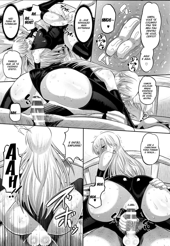 Elizabeth tratando de uma ereção - Foto 26