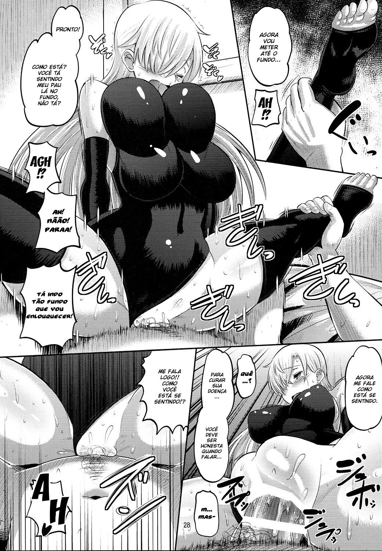 Elizabeth tratando de uma ereção - Foto 27