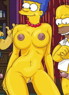Marge na orgia