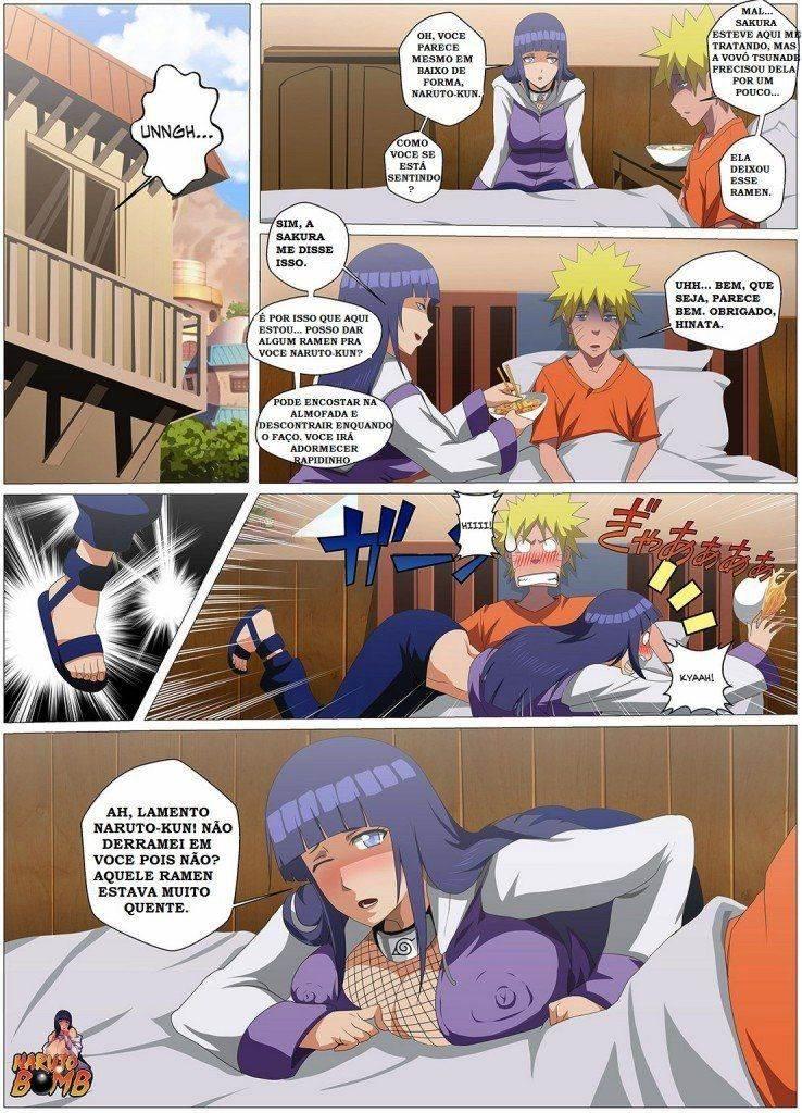 Naruto dando orgasmos pra Hinata - Foto 2