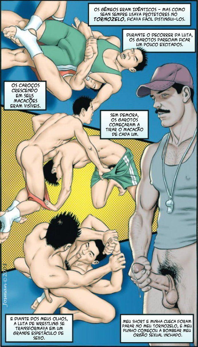 Irmãos Hentai Gay - Foto 1