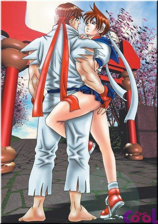 Street Fighter Hentai Ryu - Foto 24