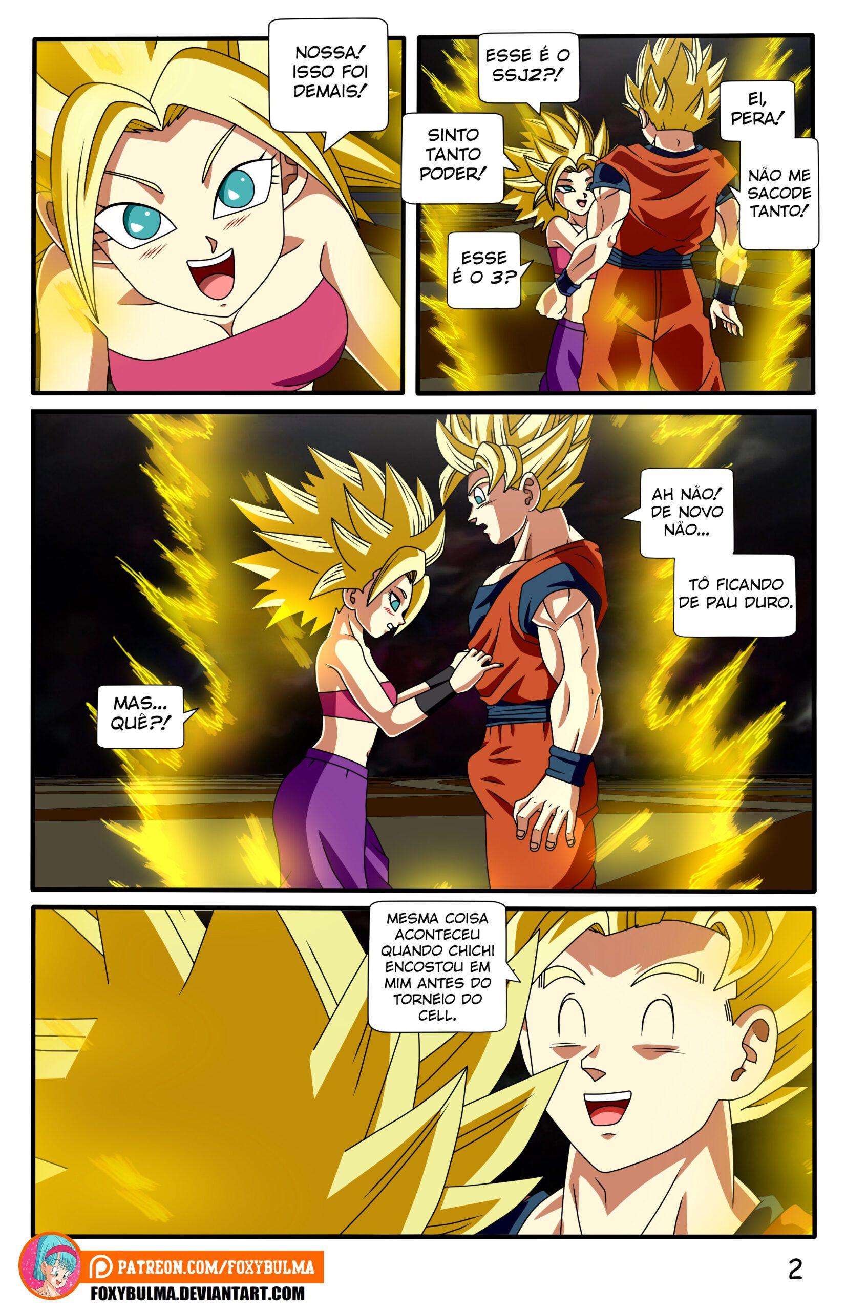 Dragon Ball Super Hentai - Goku dando uma gozada - Foto 2