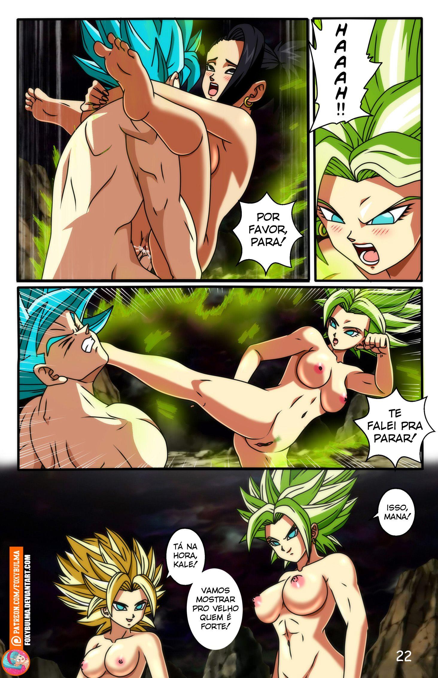 Dragon Ball Super Hentai - Goku dando uma gozada - Foto 22