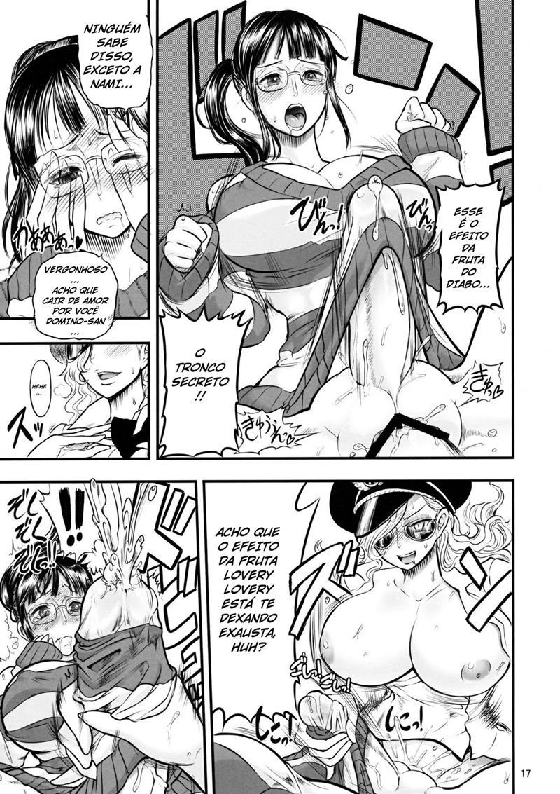 Prisão das futanaris - One Piece Hentai - Foto 13