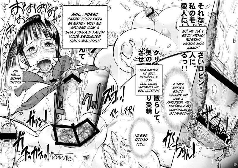 Prisão das futanaris - One Piece Hentai - Foto 16