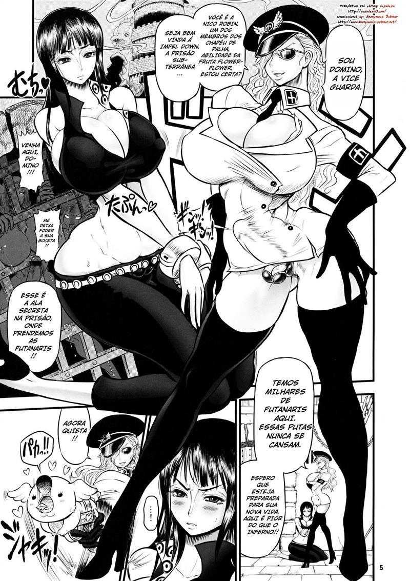 Prisão das futanaris - One Piece Hentai - Foto 2