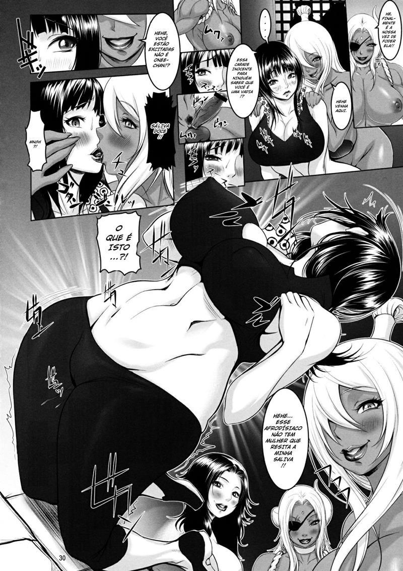 Prisão das futanaris - One Piece Hentai - Foto 24