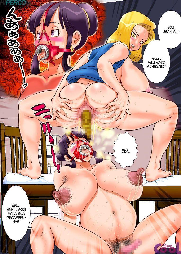 Esposas no cio Dragon Ball pornô - Foto 19