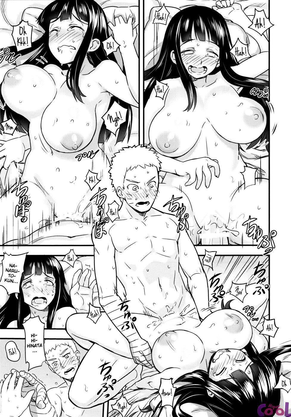 Noite de núpcias da Hinata e Naruto - Foto 34