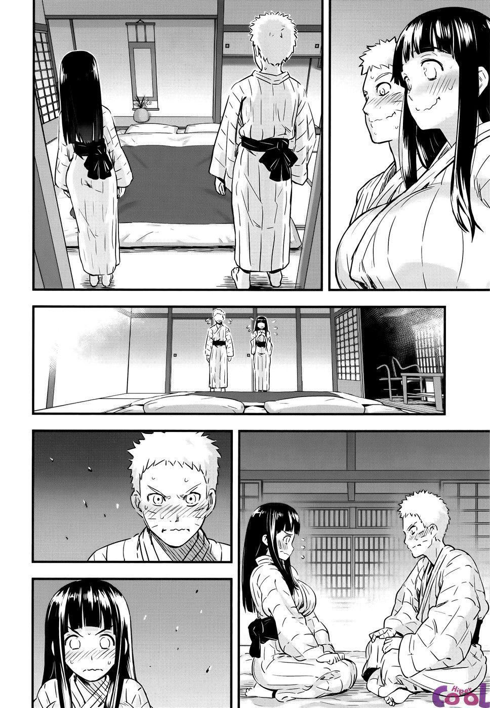 Noite de núpcias da Hinata e Naruto - Foto 7