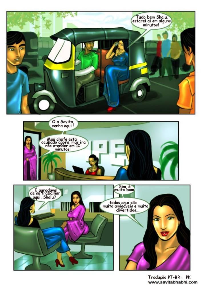 As aventuras sexuais de Savita Bhabhi 08 - Foto 10