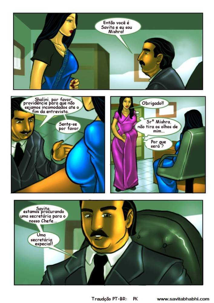 As aventuras sexuais de Savita Bhabhi 08 - Foto 13