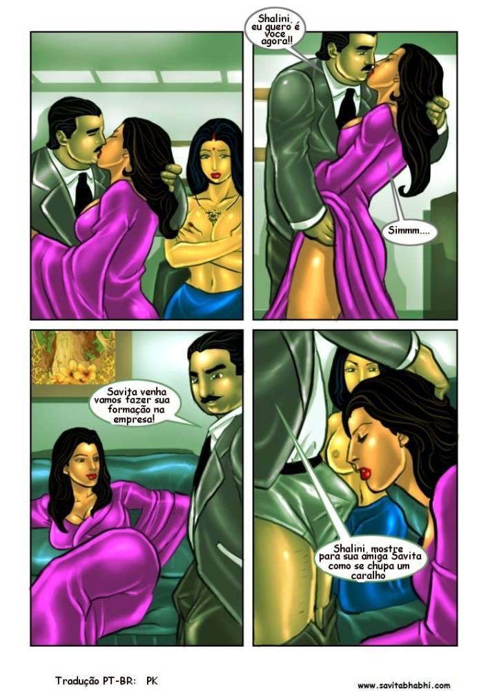 As aventuras sexuais de Savita Bhabhi 08 - Foto 2