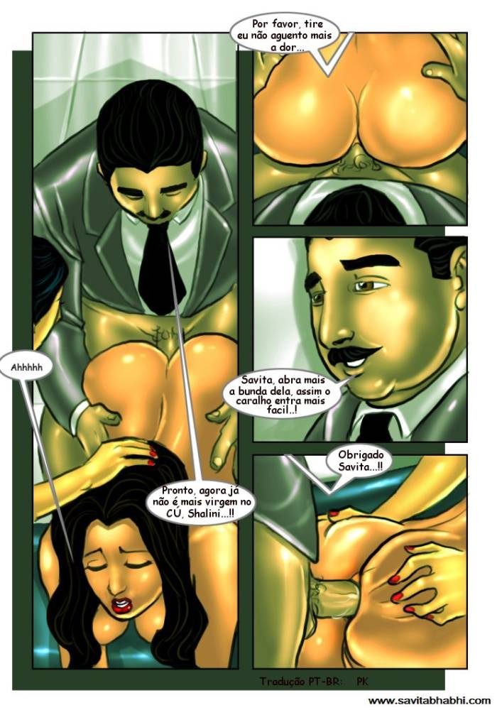 As aventuras sexuais de Savita Bhabhi 08 - Foto 21