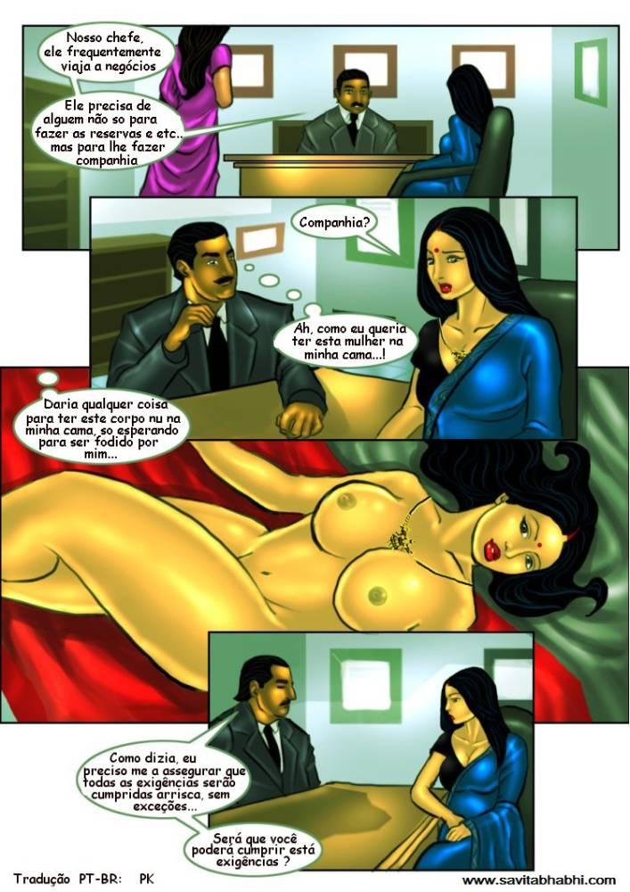 As aventuras sexuais de Savita Bhabhi 08 - Foto 6