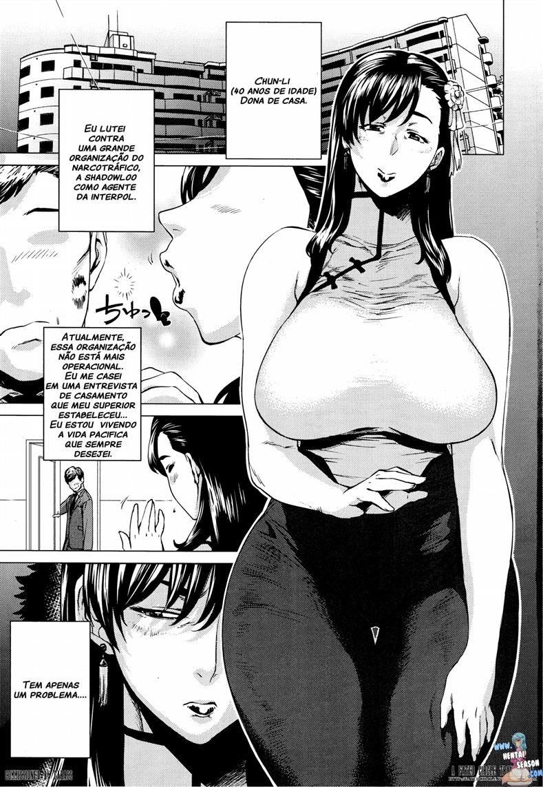 Chun-Li hentai amante do enteado - Foto 2
