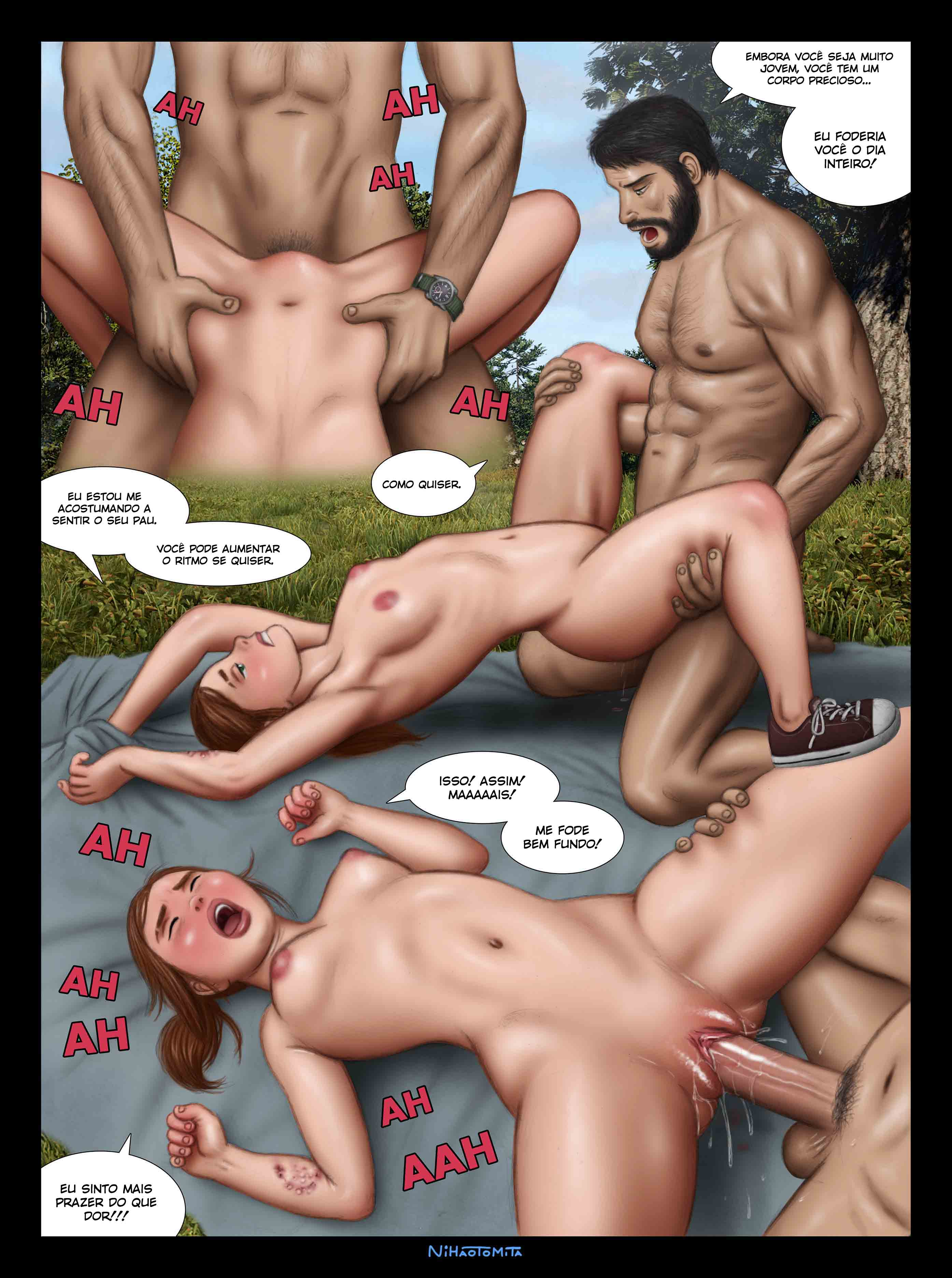 Me ensine! Tire minha virgindade! - Foto 12