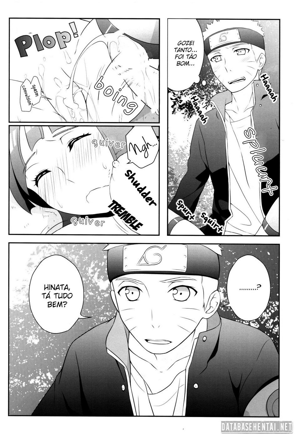 Naruto pornô na missão com Hinata - Foto 11