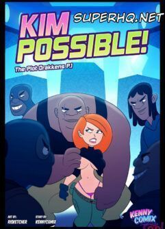 Kim Possible Pornô: A detetive puta em apuros