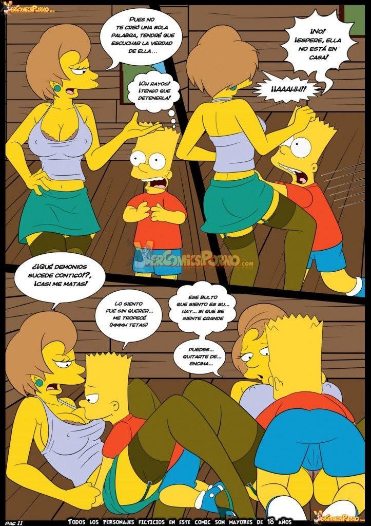Bart dando uma lição na sua professora - Foto 12