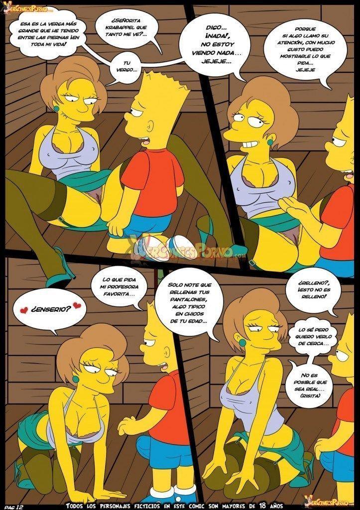 Bart dando uma lição na sua professora - Foto 13