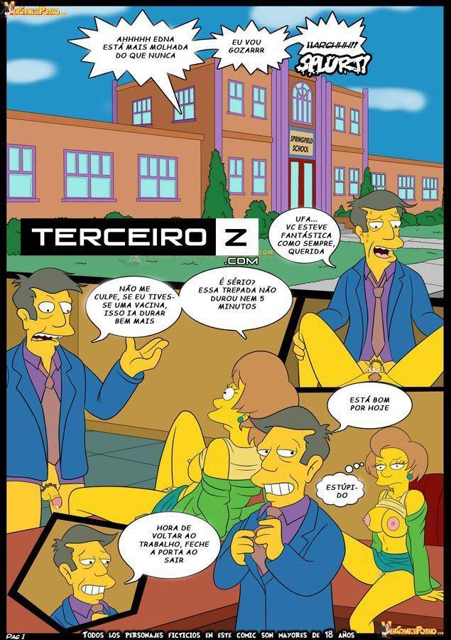Bart dando uma lição na sua professora - Foto 2