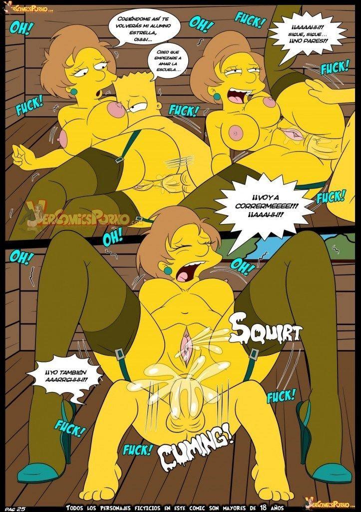 Bart dando uma lição na sua professora - Foto 26