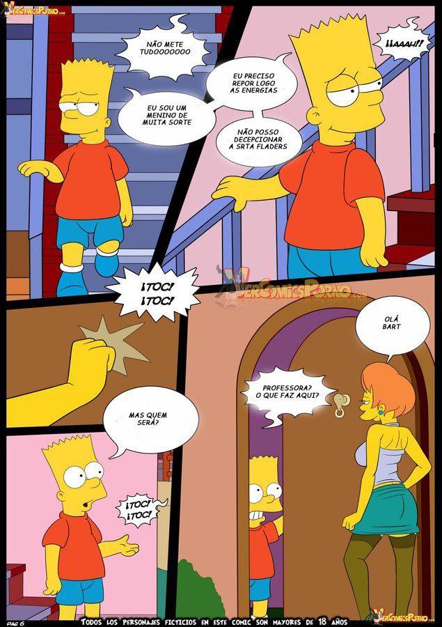 Bart dando uma lição na sua professora - Foto 7