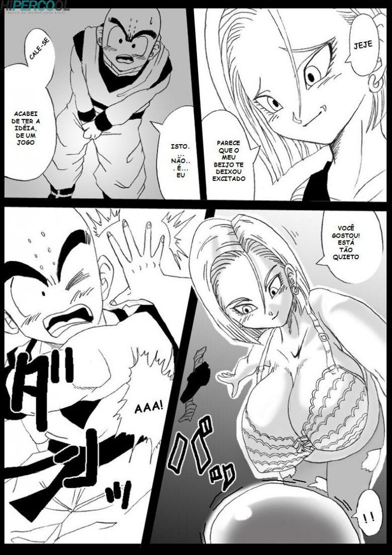 Dragon Ball Pornô: Goku o pequeno tarado - Foto 12