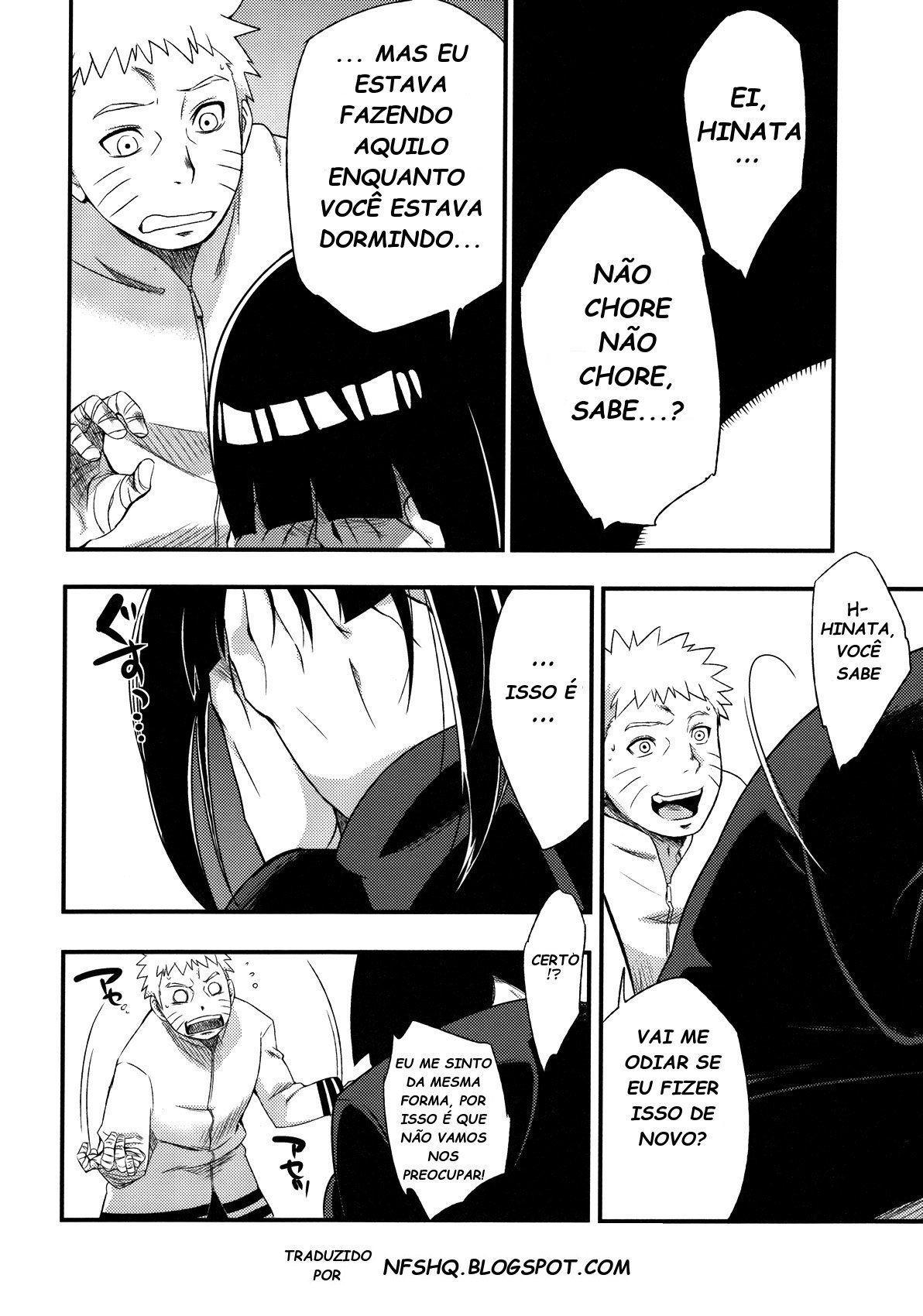 Hinata sendo amante de Naruto - Foto 11