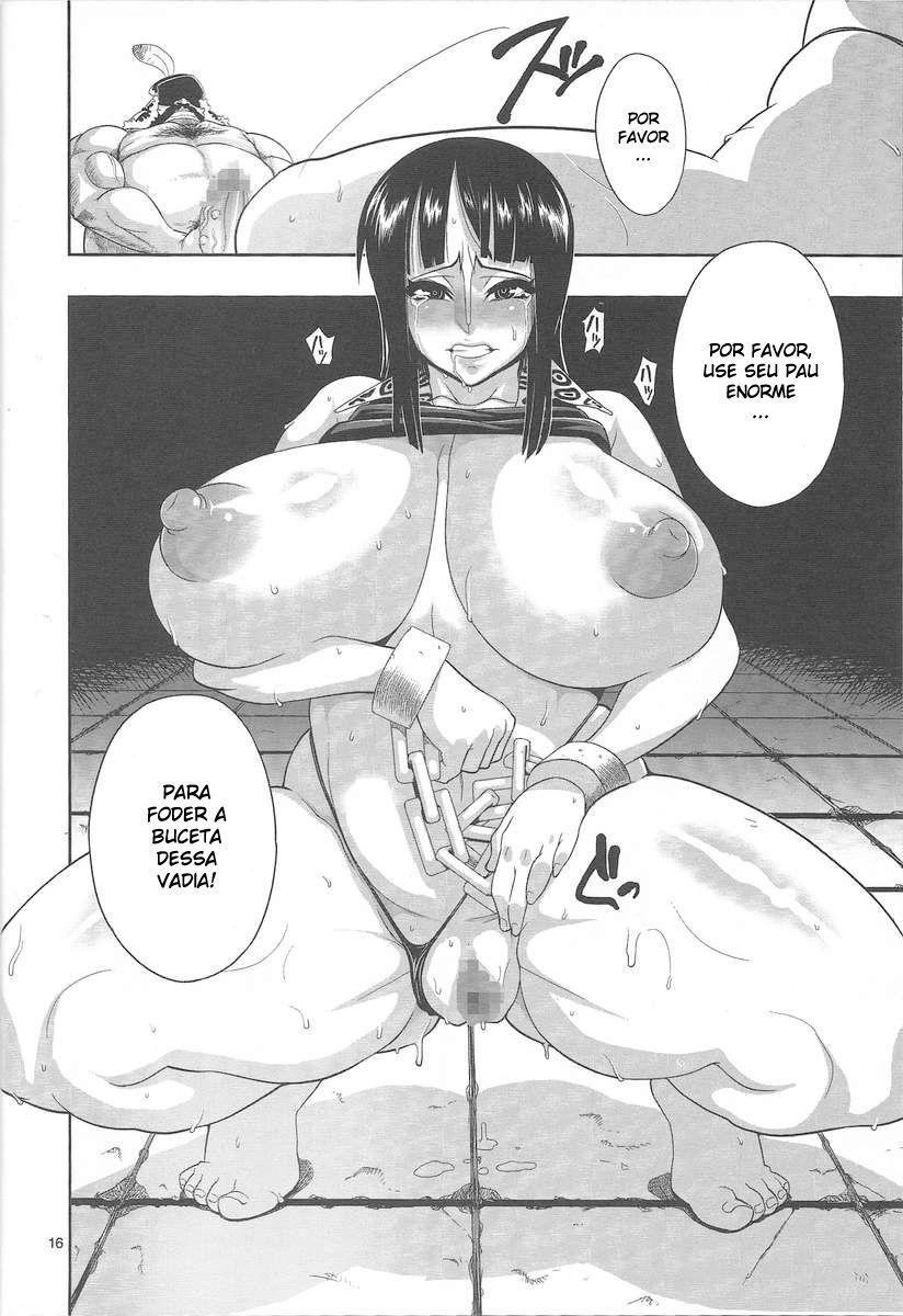 Nico Robin Hentai: Depósito de porra - Foto 15