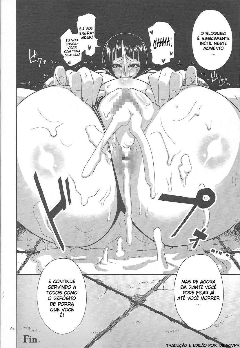 Nico Robin Hentai: Depósito de porra - Foto 22
