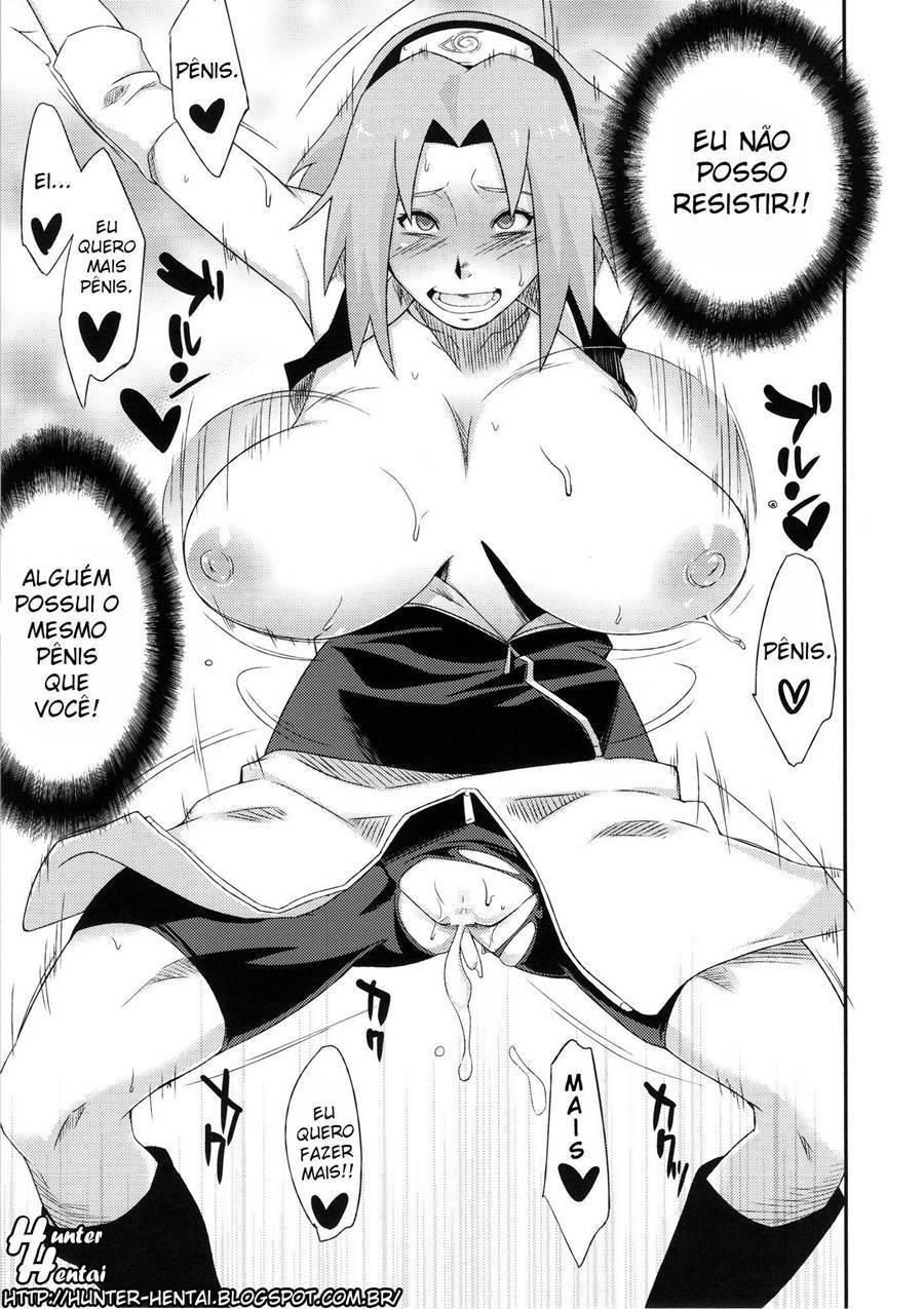 Sakura Hentai: Sexo com o inimigo - Foto 18